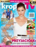 Agnieszka Sienkiewicz on the cover of Kropka TV (Poland) - January 2014