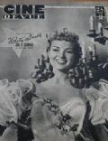 Betty Grable on the cover of Cine Revue (France) - May 1949