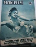 Esther Williams on the cover of Mon Film (France) - May 1952