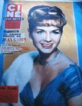Debbie Reynolds on the cover of Cine Revue (France) - April 1959