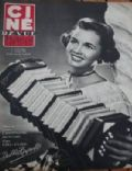 Debbie Reynolds on the cover of Cine Revue (France) - April 1952