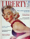 Marilyn Monroe on the cover of Liberty (Canada) - July 1955