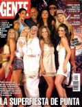 Emilia Attías, Karina Jelinek, Luisana Lopilato, Pamela David, [[7907275|pia-slapka|P on the cover of Gente (Argentina) - January 2005
