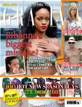 Rihanna on the cover of Grazia (United Kingdom) - August 2012