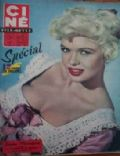 Jayne Mansfield on the cover of Cine Revue (France) - March 1959