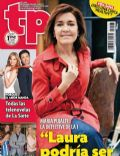 Los misterios de Laura, María Pujalte on the cover of Tp (Spain) - February 2014