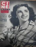 Elizabeth Taylor on the cover of Cine Revue (France) - June 1951