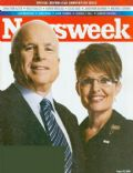 John McCain, Sarah Palin on the cover of Newsweek (United States) - August 2008