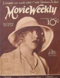 Mae Murray on the cover of Movie Weekly (United Kingdom) - December 1924