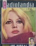 Brigitte Bardot on the cover of Radiolandia (Argentina) - December 1967