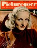 Carole Lombard, Greta Garbo on the cover of Picturegoer (United Kingdom) - December 1937