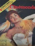 Gina Lollobrigida on the cover of Cinemonde (France) - November 1955