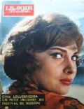 Gina Lollobrigida on the cover of Le Soir Illustre (France) - 1961