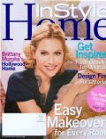 Brittany Murphy on the cover of Instyle Home (United States) - September 2006