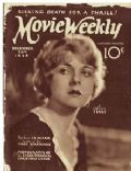 Alice Terry on the cover of Movie Weekly (United Kingdom) - December 1924