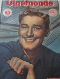 Errol Flynn on the cover of Cinemonde (France) - July 1947