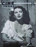 Hedy Lamarr on the cover of Cine Revue (France) - February 1949