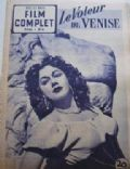 on the cover of Film Complet (France) - September 1952