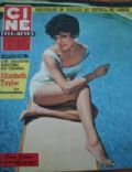 Joan Collins on the cover of Cine Tele Revue (France) - May 1959
