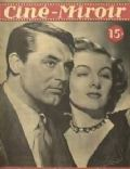Cary Grant on the cover of Cine Miroir (France) - November 1948