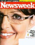 Sarah Palin on the cover of Newsweek (United States) - October 2008