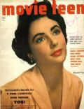 Elizabeth Taylor on the cover of Movie Teen (United States) - May 1951