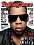 Jay-Z on the cover of Rolling Stone (United States) - July 2010