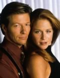 Jack Wagner and Jamie Luner
