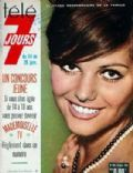 Claudia Cardinale on the cover of Tele 7 Jours (France) - January 1967