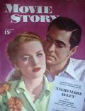 Tyrone Power on the cover of Movie Story (United States) - December 1947