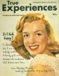 Marilyn Monroe on the cover of True Experiences (United States) - May 1950