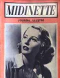 Barbara Stanwyck on the cover of Midinette (France) - May 1938