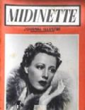 Irene Dunne on the cover of Midinette (France) - July 1939