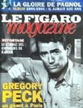 Gregory Peck on the cover of Le Figaro (France) - 1995