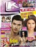 Chris Angel, Justin Bieber, Kellan Lutz, Selena Gomez on the cover of Kamar T (Slovakia) - November 2011