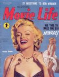 Marilyn Monroe on the cover of Movie Life (Australia) - November 1955