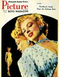 Marilyn Monroe on the cover of Minneapolis Sunday Tribune (United States) - July 1952