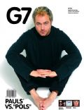 Gastón Pauls on the cover of G7 Magazine (Argentina) - February 2005