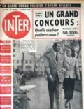 Tyrone Power on the cover of Inter (France) - March 1949