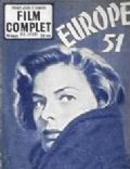 Ingrid Bergman on the cover of Le Film Complet (France) - July 1953