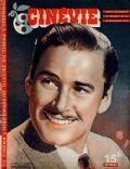 Errol Flynn on the cover of Cinevie (France) - October 1946