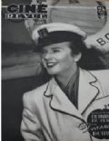 Deanna Durbin on the cover of Cine Revue (France) - February 1949