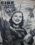 Deanna Durbin on the cover of Cine Revue (France) - December 1947