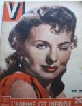 Jeanne Crain on the cover of V (France) - September 1949