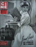 Janet Leigh on the cover of Cine Revue (France) - July 1955