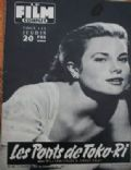 Grace Kelly on the cover of Le Film Complet (France) - December 1955