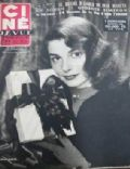 Pier Angeli on the cover of Cine Revue (France) - December 1952