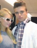 Paris Hilton and River Viiperi