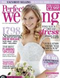on the cover of Perfect Wedding (United Kingdom) - May 2014