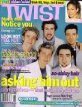 Chris Kirkpatrick, J.C. Chasez, Justin Timberlake, Lance Bass on the cover of Twist (United States) - August 2000